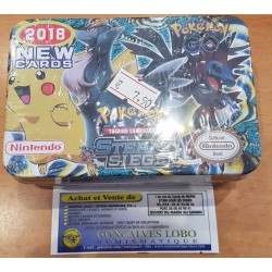 TRADING CARD POKEMON SUN MOON EVOLUTIONS PK30 BOITE DE 25