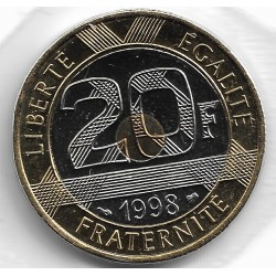 FRANCE 20 FRANCS MONT ST MICHEL 1998 BU