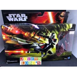 Figurine Star Wars Stormtrooper et vehicule Elite speeder bike B3718 de chez HASBRO NEUF
