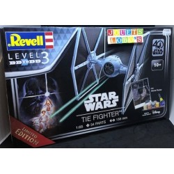 MAQUETTE STAR WARS 40 ANS TIE FIGHTER de chez REVELL NEUF