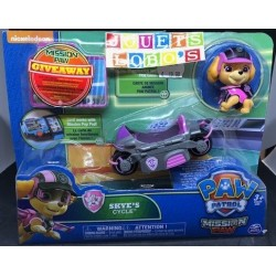 PAW PATROL MISSION PAW SKYE S CYCLE de chez SPIN MASTER NEUF