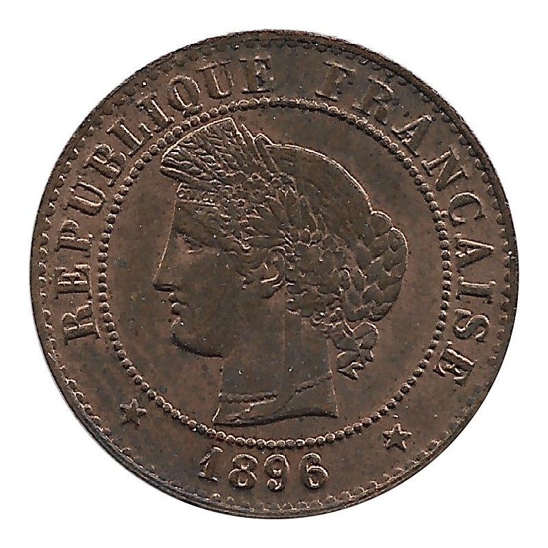 FRANCE 1 CENTIME CERES 1896 A SUP