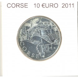 France 2011 10 EURO REGION CORSE SUP