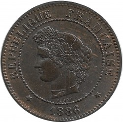 FRANCE 5 CENTIMES CERES 1886 A SUP