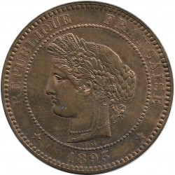 FRANCE 10 CENTIMES CERES 1893 A SUP