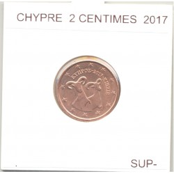 CHYPRE 2017 2 CENTIMES  SUP-