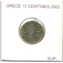 GRECE 2002 10 CENTIMES SUP-