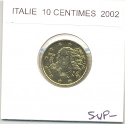 Italie 2002 10 CENTIMES SUP