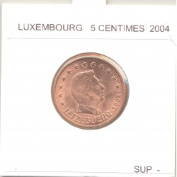 Luxembourg 2004 5 CENTIMES SUP-