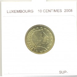 Luxembourg 2008 10 CENTIMES SUP-