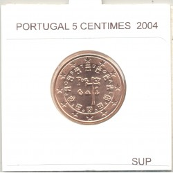 Portugal 2004 5 CENTIMES SUP
