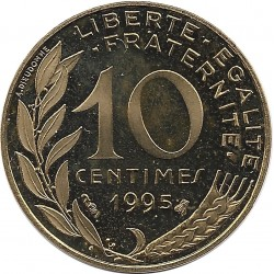 FRANCE 10 CENTIMES LAGRIFFOUL 1995 BE