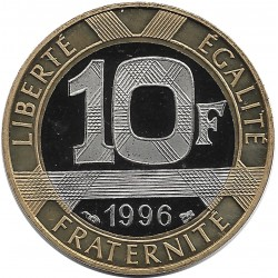 FRANCE 10 FRANCS GENIE 1996 BELLE EPREUVE BE