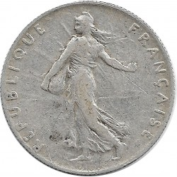 FRANCE 50 CENTIMES ROTY 1911 TB+