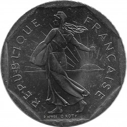 FRANCE 2 FRANCS ROTY 1995 SUP/NC