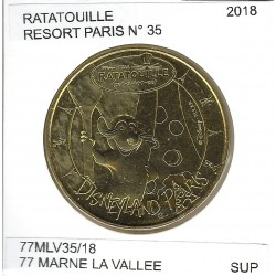 77 MARNE LA VALLEE DISNEYLAND RESORT Numero 35 RATATOUILLE 2018 SUP