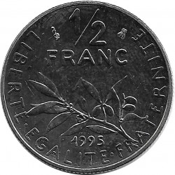 FRANCE 1/2 FRANC ROTY 1995 SUP/NC