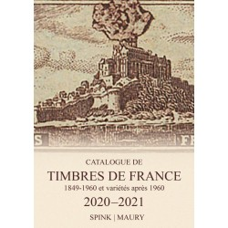 MAURY SPINK France 2020 Tome I Timbres de France Edition 2020-2021