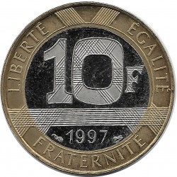 FRANCE 10 FRANCS GENIE 1997 BE