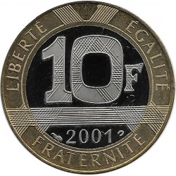 FRANCE 10 FRANCS GENIE 2001 BE