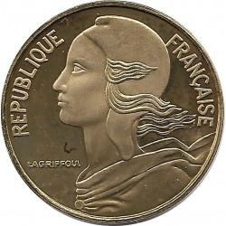 FRANCE 5 CENTIMES LAGRIFFOUL 1993 BE
