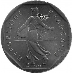 FRANCE 2 FRANCS ROTY 1986 SUP/NC