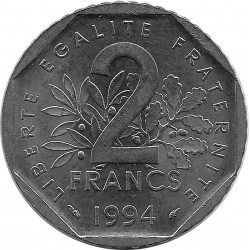 FRANCE 2 FRANCS ROTY 1994 Dauphin SUP