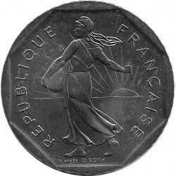 FRANCE 2 FRANCS ROTY 1995 SUP
