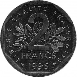 FRANCE 2 FRANCS ROTY 1996 SUP/NC