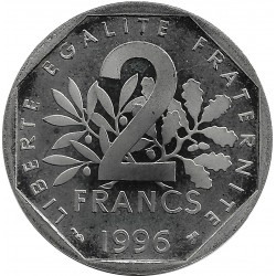 FRANCE 2 FRANCS ROTY 1996 BE