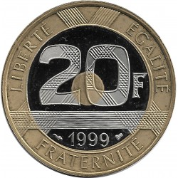 FRANCE 20 FRANCS MONT ST MICHEL 1999 BE