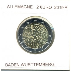 ALLEMAGNE 2019 A  2 EURO COMMEMORATIVE BADEN WURTTEMBERG SUP
