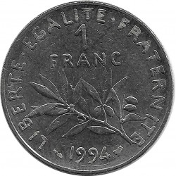 FRANCE 1 FRANC ROTY 1994 abeille SUP-