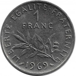 FRANCE 1 FRANC ROTY 1969 SUP-