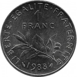 FRANCE 1 FRANC ROTY 1988 SUP+