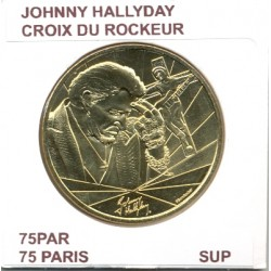 75 PARIS JOHNNY HALLYDAY CROIX DU ROCKEUR 2019 SUP