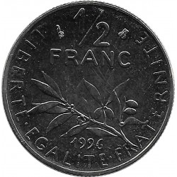 FRANCE 1/2 FRANC ROTY 1996 SUP/NC