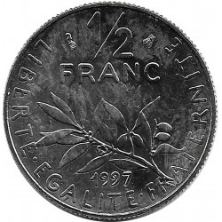 FRANCE 1/2 FRANC ROTY 1997 SUP/NC