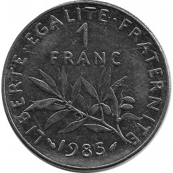 FRANCE 1 FRANC ROTY 1985 SUP-