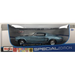 FORD MUSTANG GT COBRA JET 1968 1/18 1:18