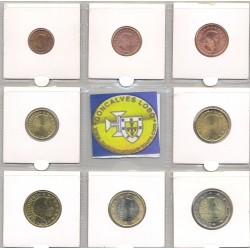 LUXEMBOURG 2004 SERIE 8 MONNAIES SUP-