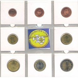 LUXEMBOURG 2005 SERIE 8 MONNAIES SUP-