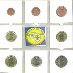 LUXEMBOURG 2008 SERIE 8 MONNAIES SUP-
