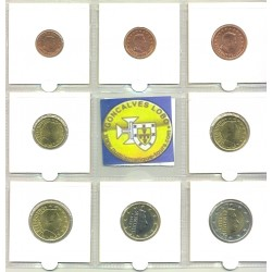 LUXEMBOURG 2009 SERIE 8 MONNAIES SUP-