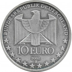 Allemagne 2002 D 10 EURO 100 ANS METRO ALLEMAND SUP