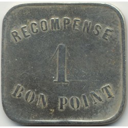 75 SEINE - PARIS 1 BON POINT RECOMPENSE TTB N2