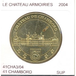 41 CHAMBORD LE CHATEAU ARMOIRIES 2004 SUP