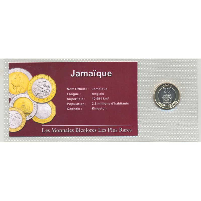 JAMAIQUE 20 DOLLARS 2001 SUP/NC