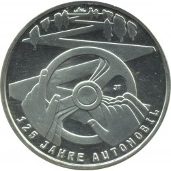 Allemagne 2011 F 10 EURO 125 ANS AUTOMOBILE BE