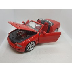 FORD MUSTANG GT CONCEPT ROUGE MAISTO 1/24 SANS BOITE